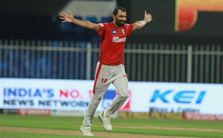 Mohammad Shami (KXIP V RR) Images in Hindi