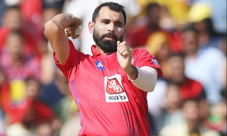 Mohammed Shami Kings XI Punjab