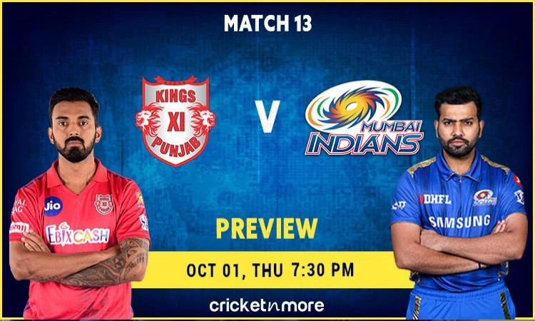 Mumbai Indians vs KXIP