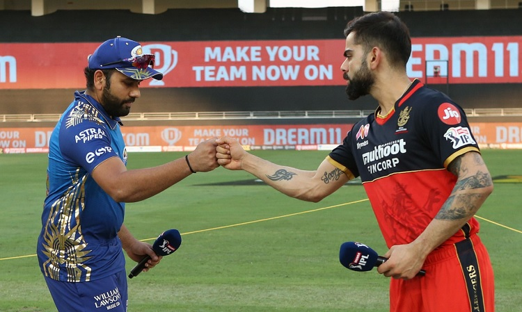 Mumbai opt to bowl first against RCB, Check Playing XI