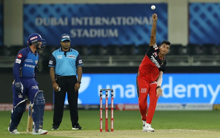 Navdeep Saini (RCB V MI) Images