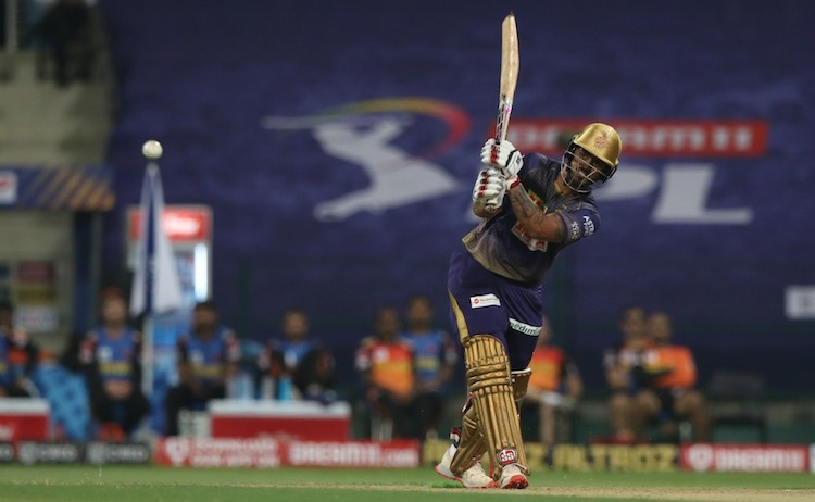 Nitish Rana (KKR V SRH) Images in Hindi