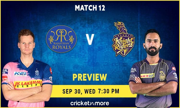 Rajasthan Royals vs Kolkata Knight Riders Predicted XI