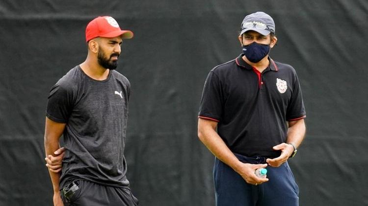 Rahul and Kumble