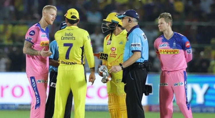 Rajasthan Royals vs Chennai Super Kings Probable XI