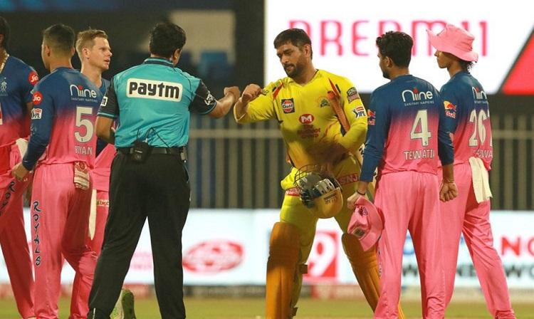 Rajasthan royals beat Chennai Super Kings by 16 runs