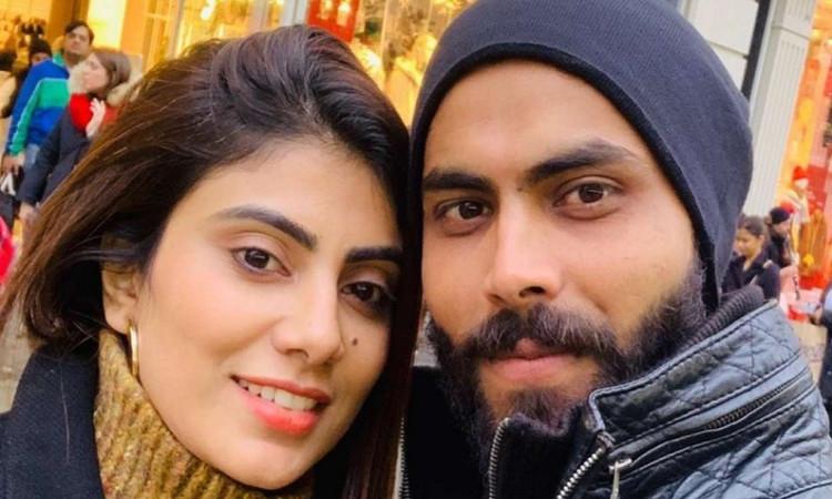 Ravindra Jadeja's wife Rivaba