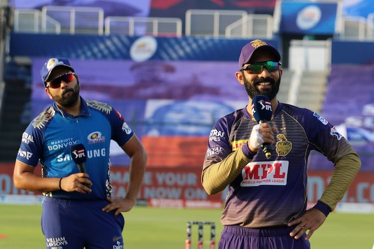 Rohit Sharma  Dinesh Karthik Images in Hindi