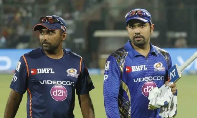 Rohit Sharma and Mumbai Indians Coach