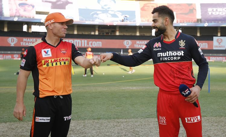 SRH V RCB1 Images in Hindi