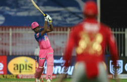 Rajasthan royals beat Kings XI Punjab by four wickets