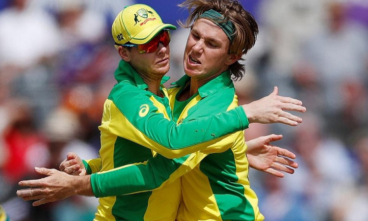 Steve Smith and Adam Zampa ODI