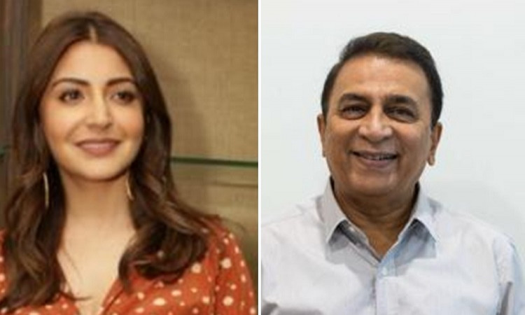 Sunil Gavaskar and Anushka Sharma