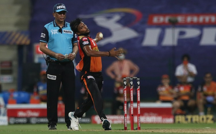 T Natarajan (SRH V DC) Images in Hindi