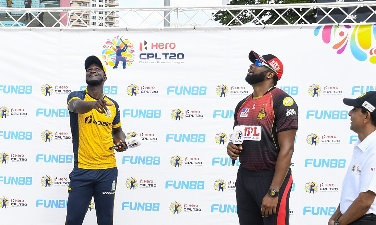 Trinbago Knight Riders opt to bowl in CPL 2020 Final vs St Lucia Zouks