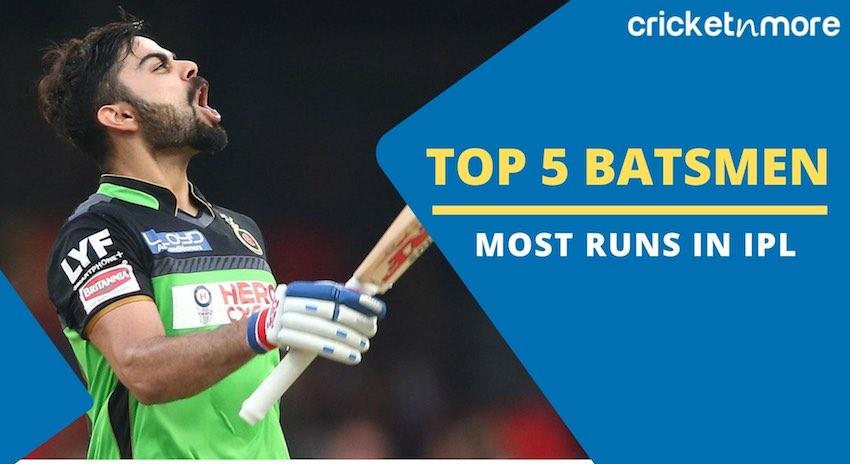 Top 5 IPL Batsmen
