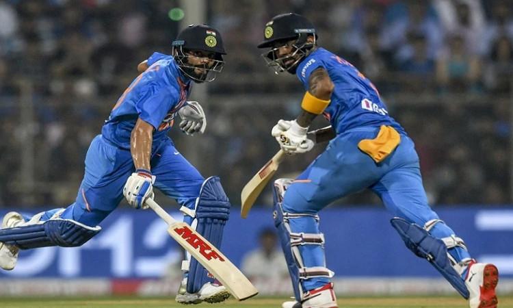 Virat Kohli and KL Rahul