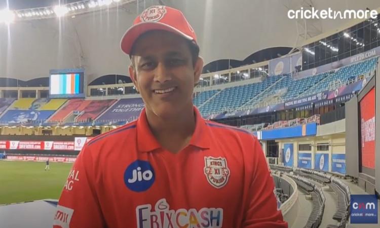 Anil Kumble Interview after Kings XI Punjab defeat Mumbai Indians in hindi