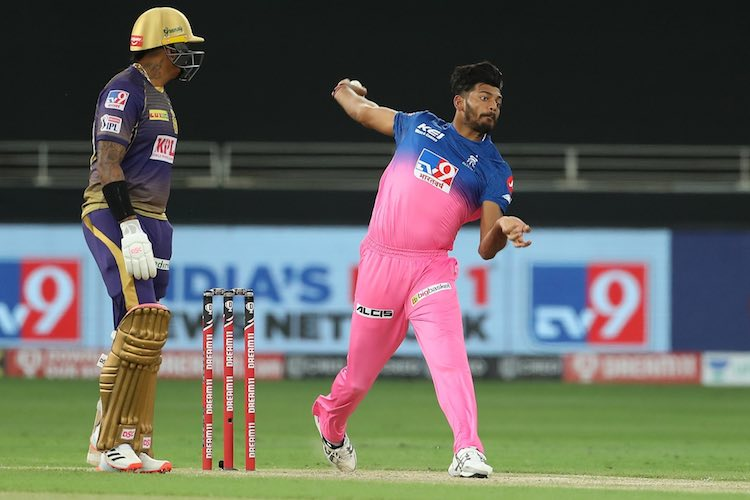 Ankit Singh Rajpoot (RR V KKR) Images in Hindi