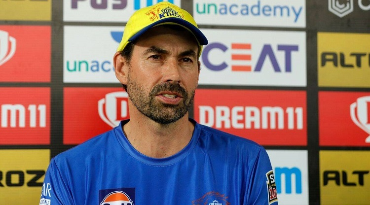 CSK coach Stephen Fleming talks about Dwayne Bravo says injury could sideline him for a couple of we