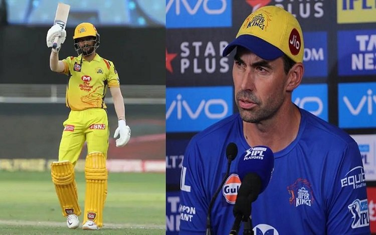 CSK coach Stephen Fleming thinks Ruturaj Gaikwad is the right player for team in hindi
