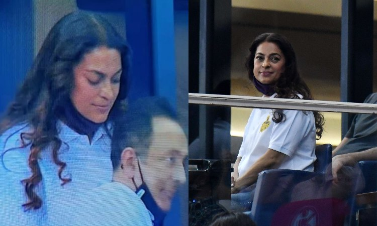 CSK vs KKR IPL 2020 Bollywood actress Juhi Chawla gets trolled after KKR lose against CSK in hindi