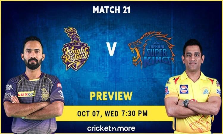 Chennai Super Kings VS Kolkata Knight Riders
