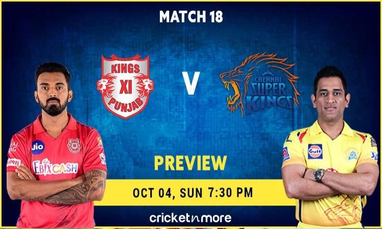 Chennai Super Kings VS Kings XI Punjab