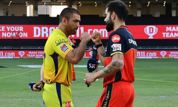 RCB skipper Virat Kohli opt to bat first against Chennai Super Kings