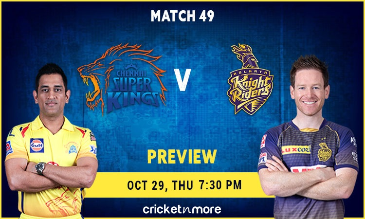 Chennai Super Kings vs Kolkata Knight Riders Preview and Probable XI