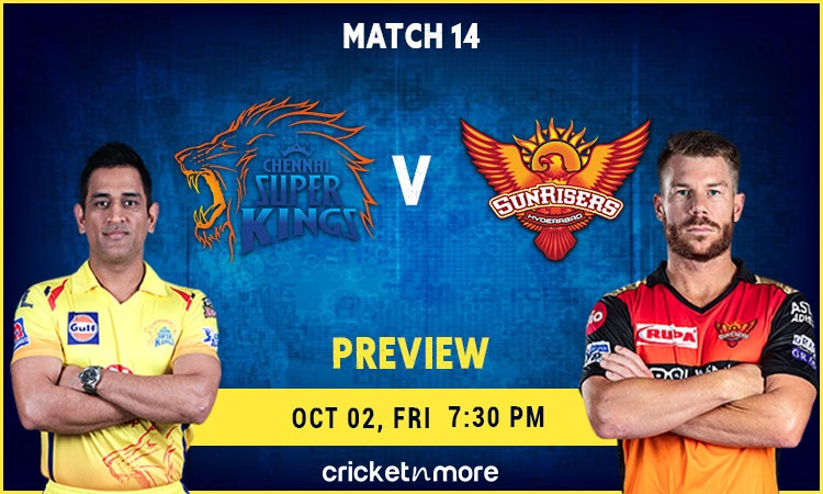Chennai Super Kings vs Sunrisers Hyderabd Preview