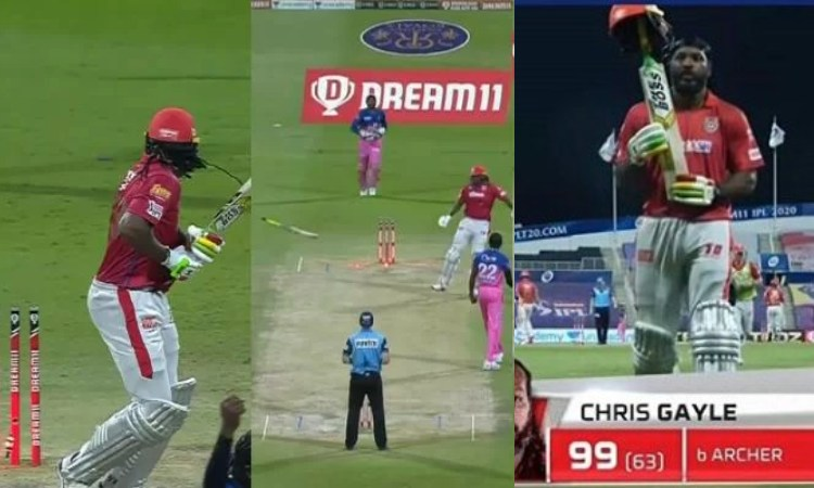 Kings XI Punjab batsman Chris Gayle cops fine for flinging bat