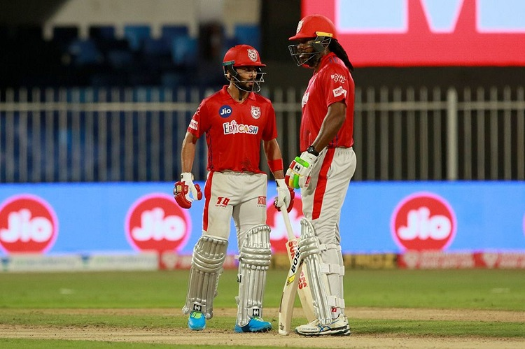 Chris Gayle and Mandeep Singh