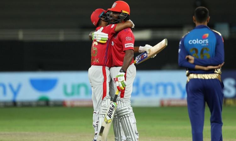 Chris Gayle and Mayank Agarwal