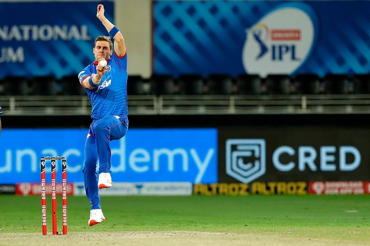 IPL 2020: DC's Nortje Smashes Speed Records In Fiery Opening Spell Against RR