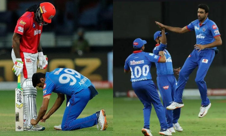 Delhi Capitals bowler Ravichandran Ashwin says he Ties Kings XI Punjab batsman Chris Gayle both fe