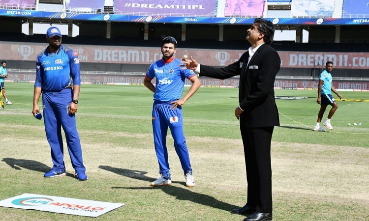 Mumbai Indians won the toss and elected to bowl first against Delhi Capitals