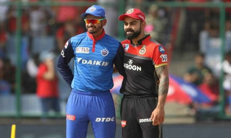 Royal Challengers Bangalore won the toss and opt to bowl first against Delhi Capitals