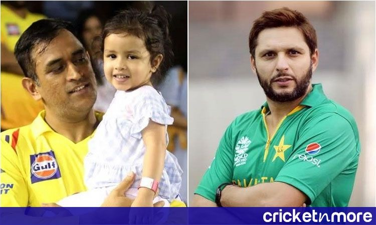 Dhoni and Afridi