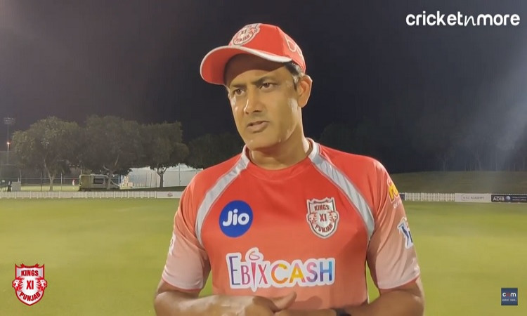 Embrace The Pressure And Take One Game At A Time: KXIP Coach Kumble To His Players
