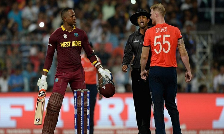 England all rounder Ben Stoke reacts on Marlon Samuels statement over his family in hindi