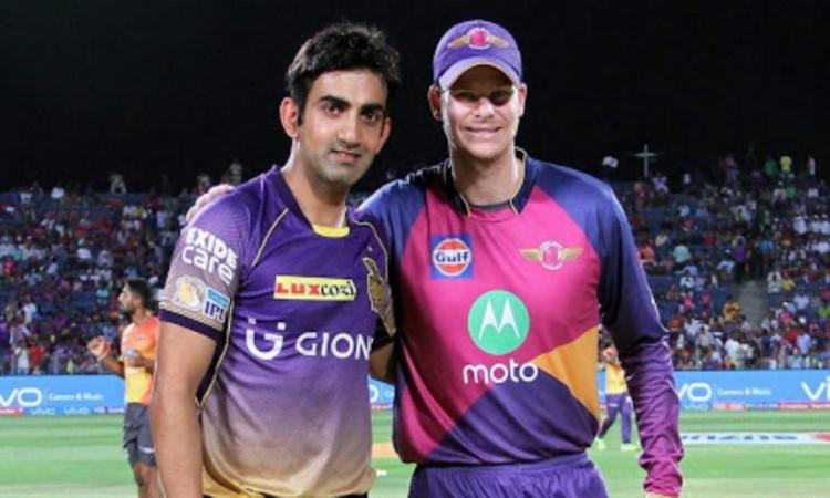 Former Indian batsman Gautam Gambhir says Steve Smith drops himself and RR can pick overseas seamer