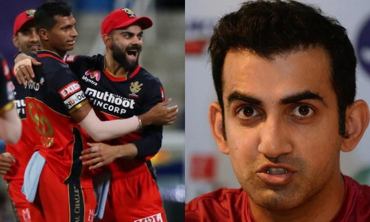 Gautam Gambhir unhappy with virat kohli decison
