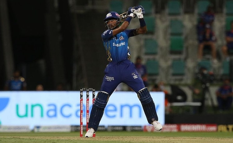 Hardik Pandya (MI V KXIP) Images in Hindi