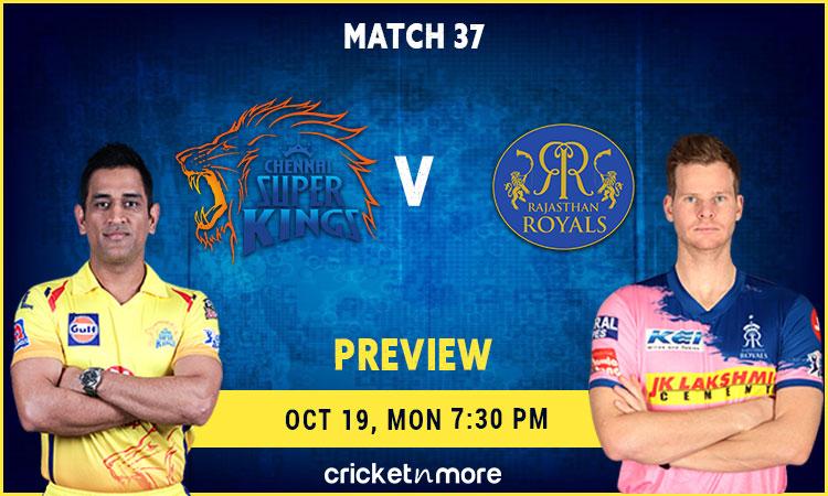 IPL 2020, Preview - Chennai Super Kings v Rajasthan Royals