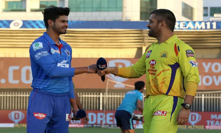 IPL 2020, Toss, - Chennai Super Kings  v Delhi Capitals