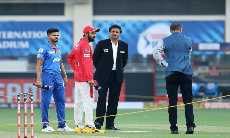 IPL 2020, Toss - Delhi Capitals v Kings XI Punjab
