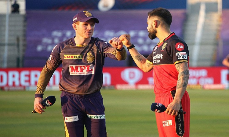 IPL 2020, Toss - Royal Challengers Bangalore v Kolkata Knight Riders