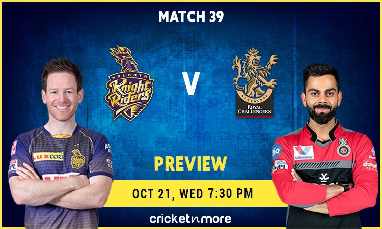 IPL 2020: Kolkata Knight Riders VS Royal Challengers Bangalore – Fantasy Cricket Tips, Prediction &