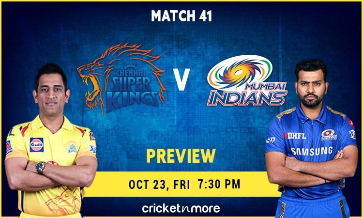 IPL 2020: Chennai Super Kings VS Mumbai Indians – Fantasy Cricket Tips, Prediction & Pitch Report